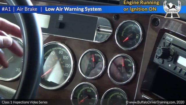 A1. Air Brake - Low Air Warning System