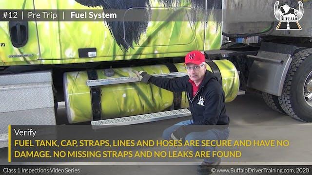12. Pre Trip - Fuel System