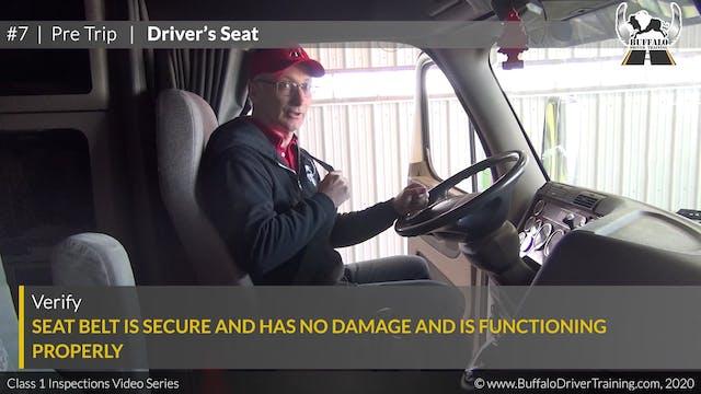 07. Pre Trip - Drivers's Seat