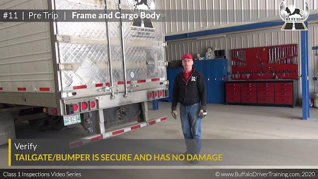 11. Pre Trip - Frame and Cargo Body