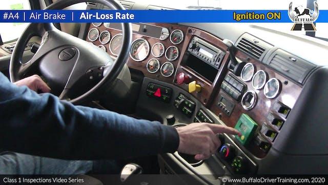 A4. Air Brake - Air-Loss Rate