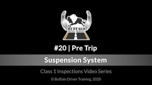 20. Pre Trip - Suspension