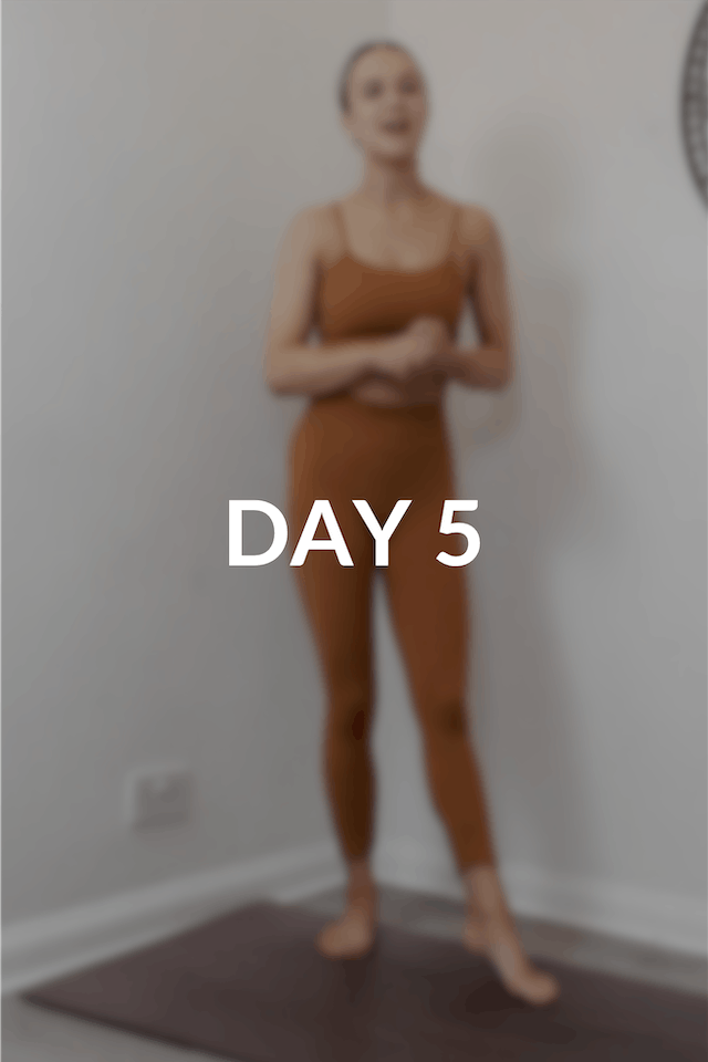 28 day Intro to Pilates | Day 5
