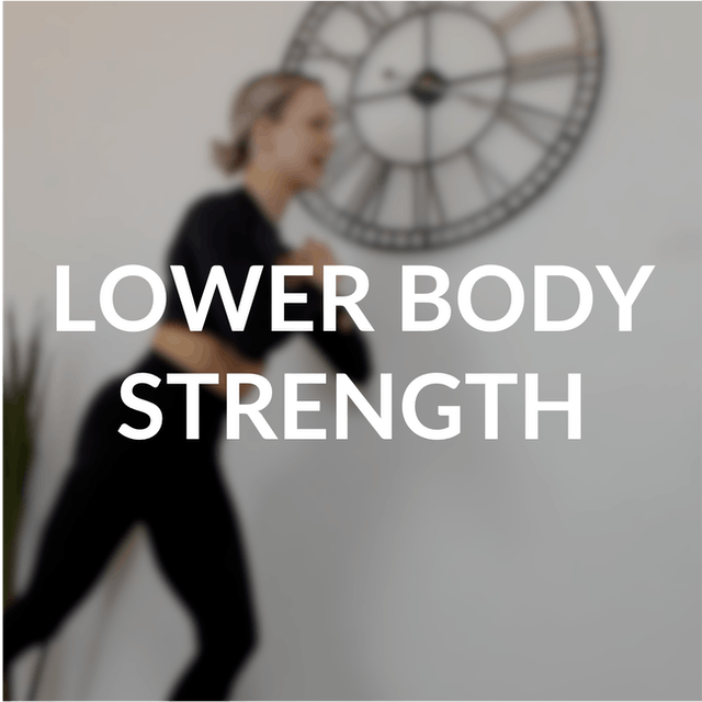 Lower body strength | 30 mins