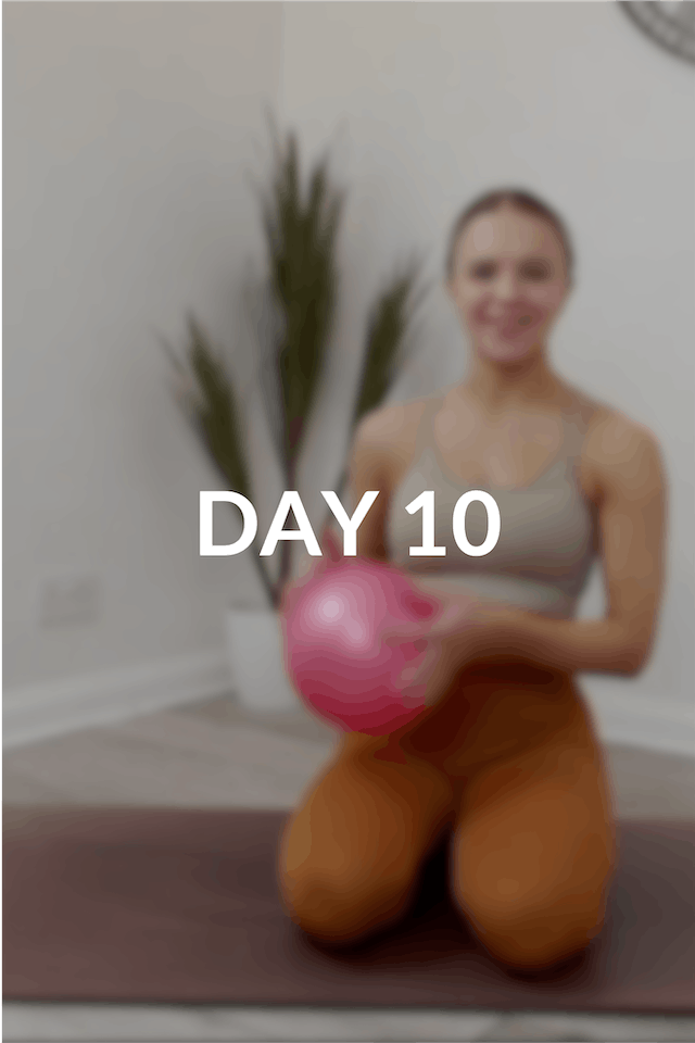 28 day Intro to Pilates | Day 10