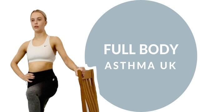 Asthma UK Chair based Pilates | Session 4 - Full body