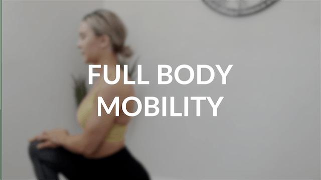 Full body mobility   30 mins