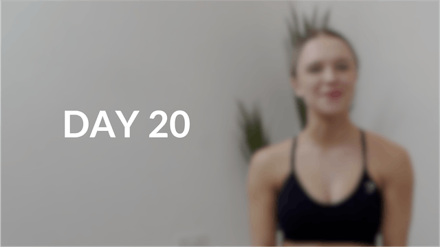 28 day Introduction to Pilates | Day 20