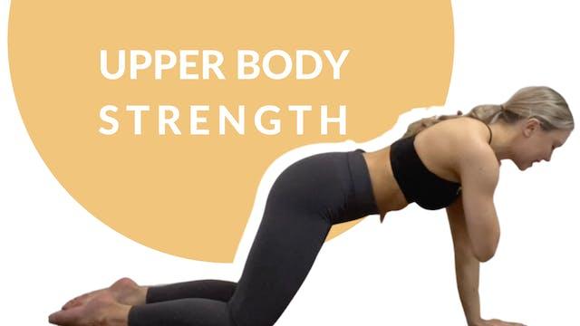 Upper body strength | 30 mins