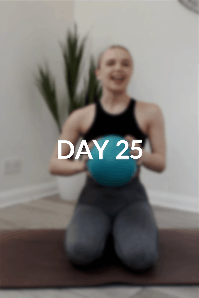 28 Day Intro to Pilates | Day 25