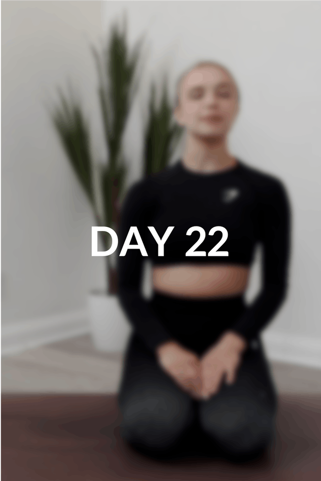 28 day intro | Day 22