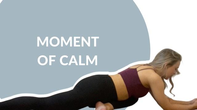 Moment of calm | 20 mins