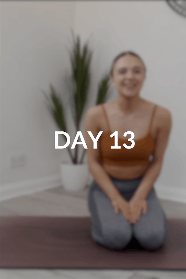 28 day Intro to Pilates | Day 13