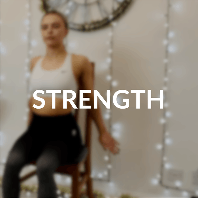 Asthma UK Chair based Pilates | Session 3 - Building strength