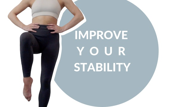 Improve your stability | 20 mins