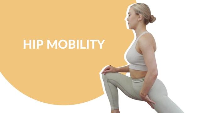 Hip mobility   15 mins