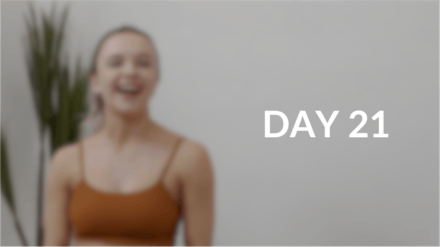28 day Introduction to Pilates | Day 21