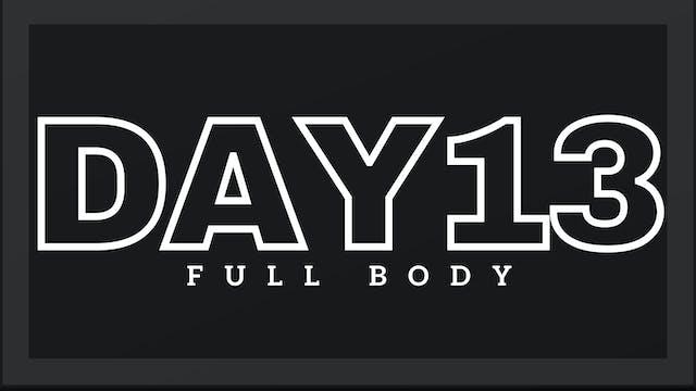 Phase 2 Day 6 - Full Body