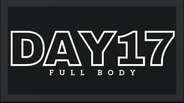 Phase 3 Day 3 - Full Body