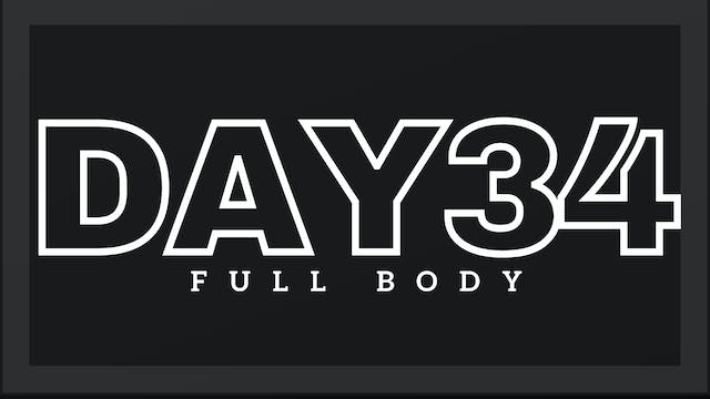 Phase 5 Day 6 - Full Body