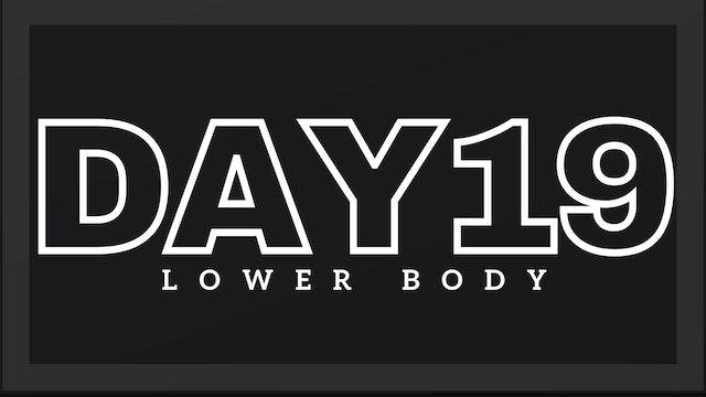 Phase 3 Day 5 - Lower Body