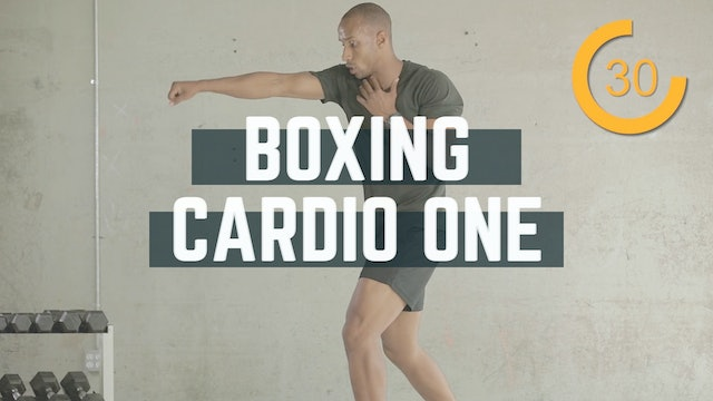 Boxing Cardio Workout
