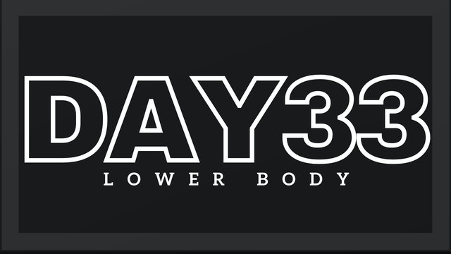 Phase 5 Day 5 - Lower Body