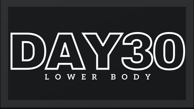 Phase 5 Day 2 - Lower Body