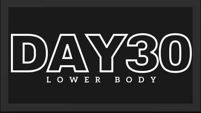 Phase 5 Day 2 - Lower Body