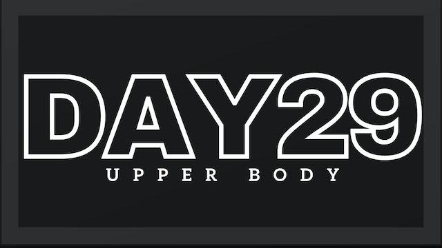 Phase 5 Day 1 - Upper Body