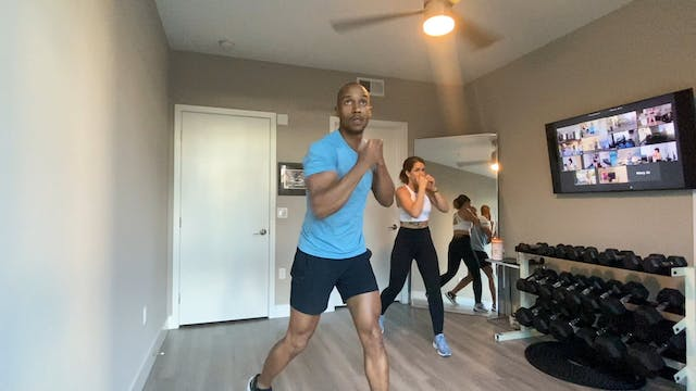 Memorial Day Boxing Class