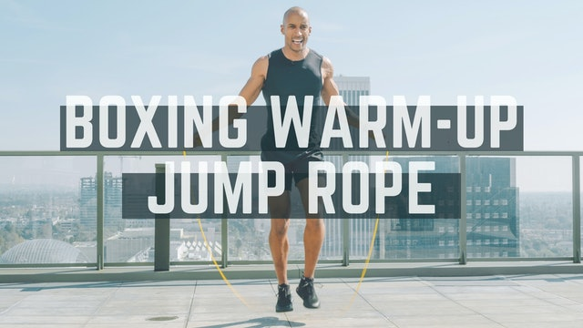 Boxing Warm-up: Jump Rope