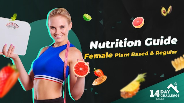 Female Nutrition Muscle Gain Guide