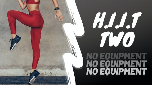 H.I.I.T. #2 - Lower Body