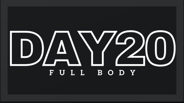Phase 3 Day 6 - Full Body