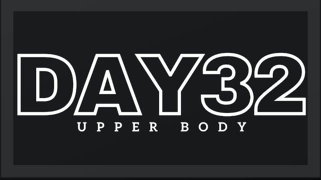 Phase 5 Day 4 - Upper Body
