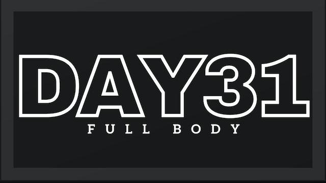 Phase 5 Day 3 - Full Body