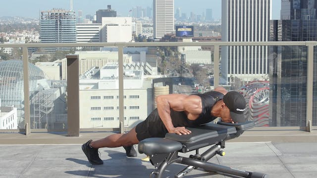 Chest Workout - Bench & Dumbbells A