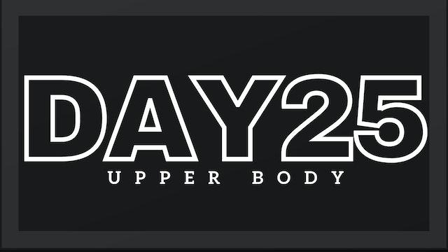 Phase 4 Day 4 - Upper Body