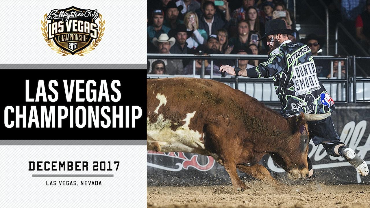 2017 Bullfighters Only Las Vegas Championship