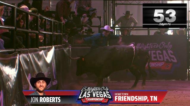 Jon Roberts (Re-fight) - 2016 BFO Veg...