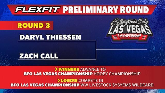 Zach Call - 2016 BFO Vegas Preliminary RD