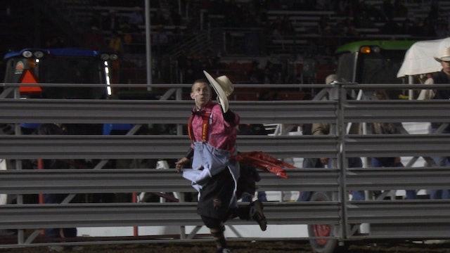 2019 Rodeo Salinas - Nathan Harp Slo-mo (Day 1)