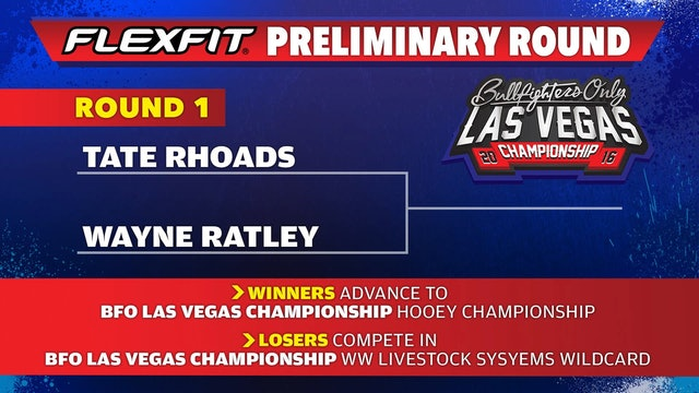 Wayne Ratley - 2016 BFO Vegas Preliminary RD