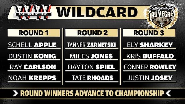 2017 BFO Las Vegas Championship Wildcard Round