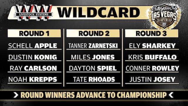 2017 BFO Las Vegas Championship Wildc...