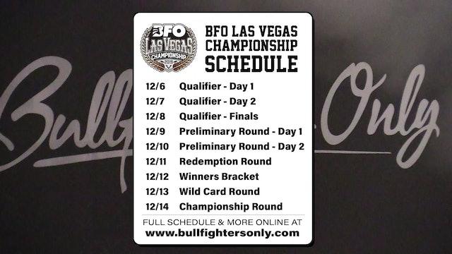 BFO Las Vegas Preliminary Round - Day 2
