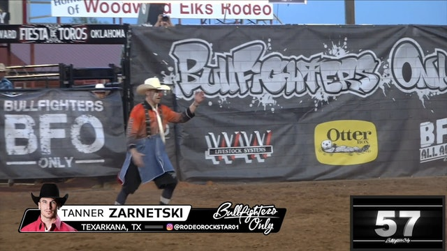 2018 BFO Fiesta de Toros - Tanner Zarnetski