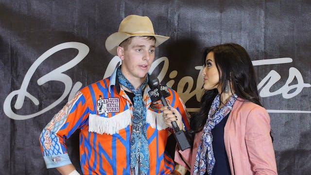 Cade Gibson - After Win Interview - W...