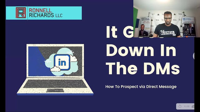 How To Prospect Using LinkedIn Direct Messages